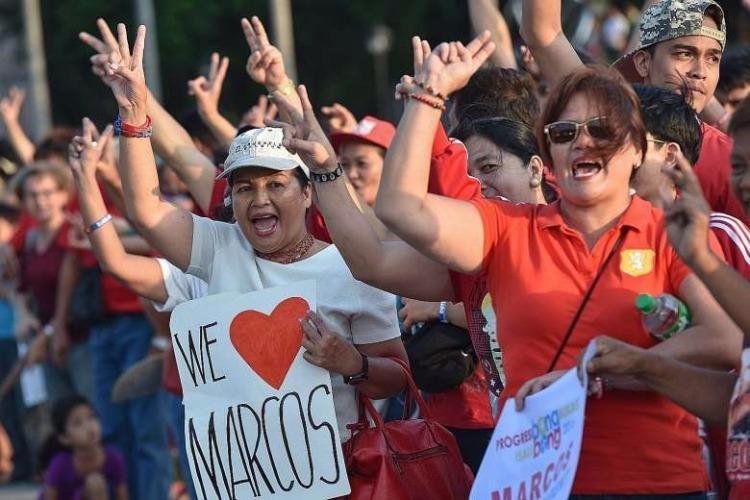 Người dân tỉnh Ilocos vẫn rất quý mến vị cố tổng thống Fernando Marcos, vốn bị đông đảo người dân Philippines xem là độc tài. Ảnh: AFP