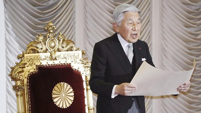 Nhật hoàng Akihito 'bóng gió' việc thoái vị, truyền ngôi - ảnh 1