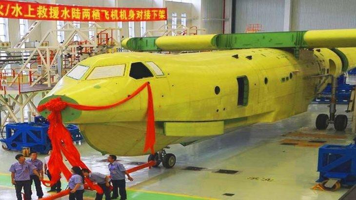 Thủy phi cơ lớn nhất thế giới AG600