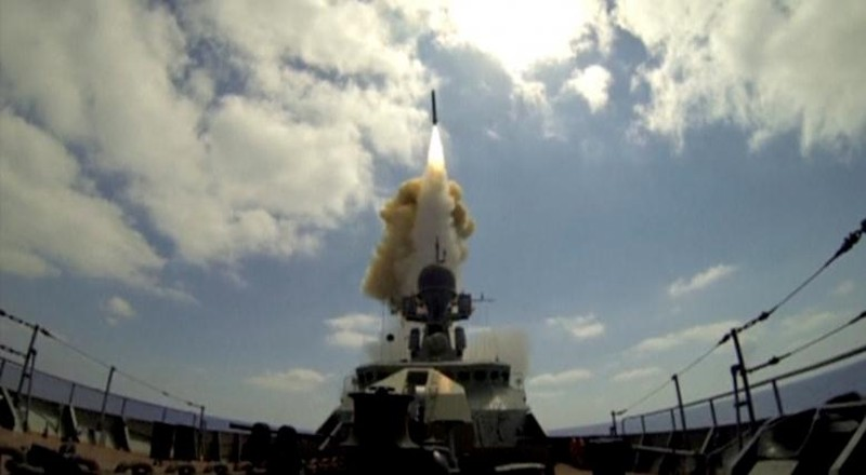 Nga phóng đi 3 tên lửa hành trình nhắm vào các mục tiêu trong khu vực thành phố Aleppo
