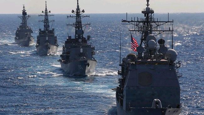 Cựu lãnh đạo hải quân Mỹ dự đoán Mỹ khó tránh khỏi việc đụng độ với hải quân Trung Quốc.