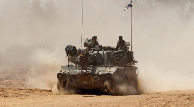 Israel cho không kích trả đũa quân đội Syria