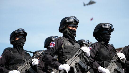 Thủ tướng Campuchia tăng thêm 350 quân cảnh vệ