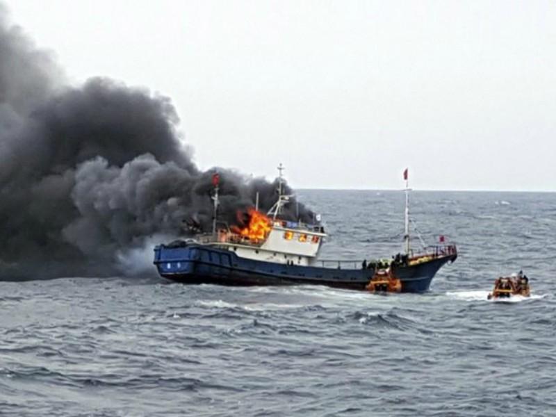 Hàn Quốc triệu đại sứ Trung Quốc vụ đâm chìm tàu tuần duyên