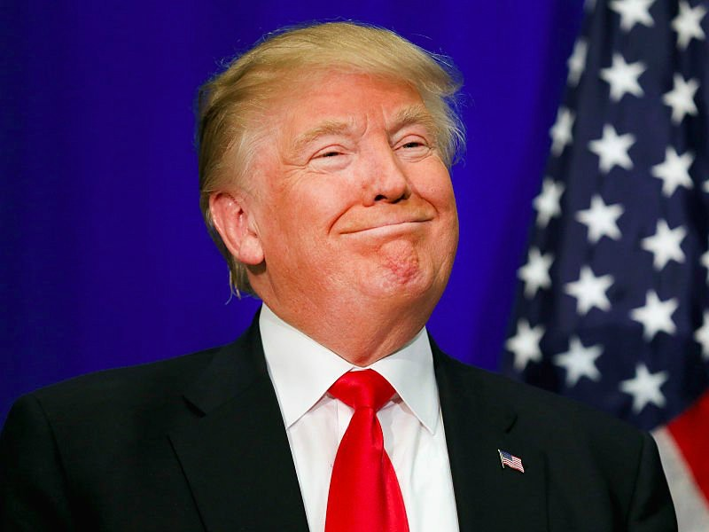 Ứng viên tổng thống đảng Cộng hòa Donald Trump. Ảnh: YONHAP