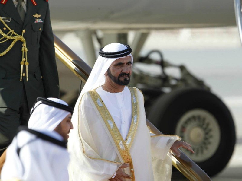 Quốc vương Dubai Sheikh Mohammed bin Rashid al-Maktoum. (Ảnh: Reuters)