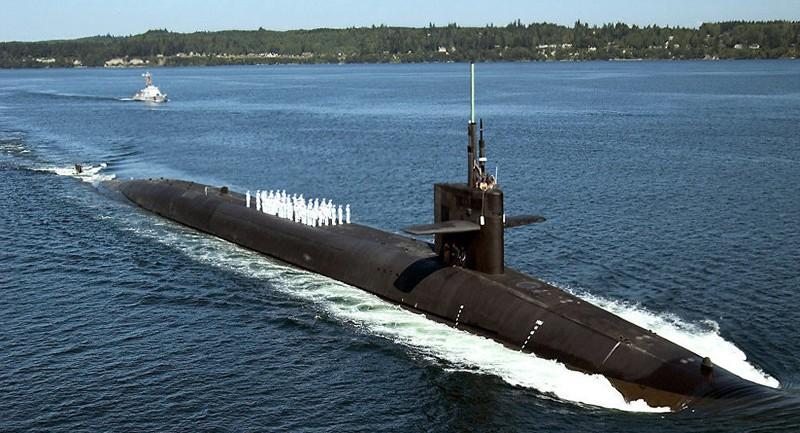 Tàu ngầm hạt nhân 'khủng' của Mỹ đến Thái Bình Dương