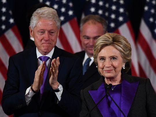 Hillary Clinton diễn văn xúc động, chấp nhận thất bại - ảnh 1