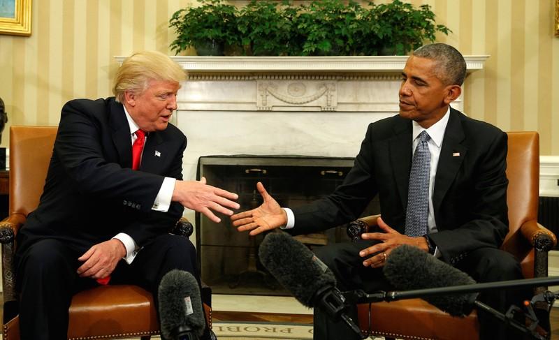 Ông Trump đổi tính, thừa nhận 'rất thích' Obama - ảnh 1