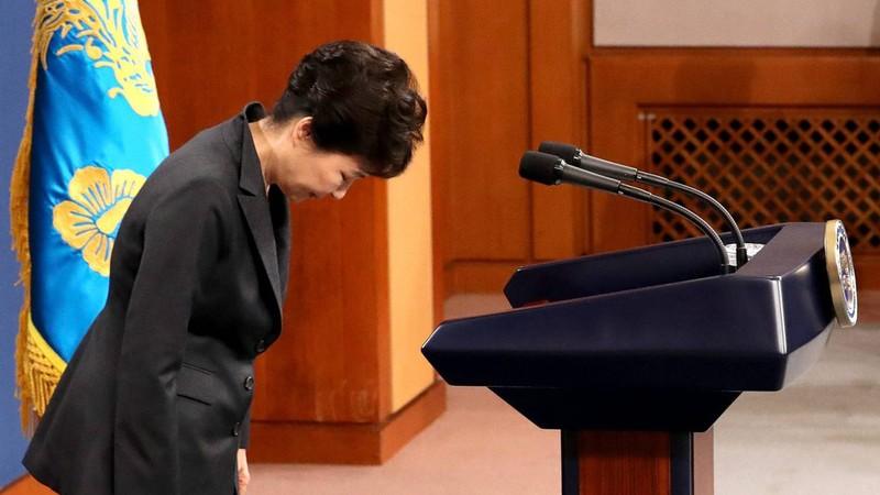 Tín nhiệm tổng thống Hàn Quốc vẫn tuột dốc không phanh