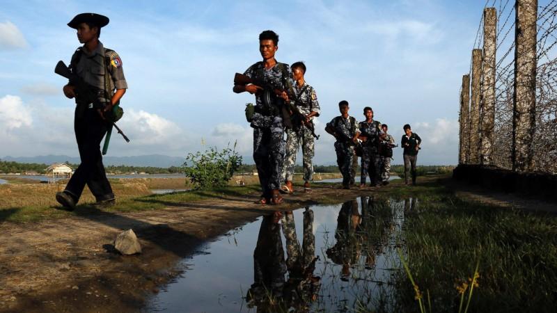 Giao tranh leo thang tại Myanmar, 8 người thiệt mạng - ảnh 1