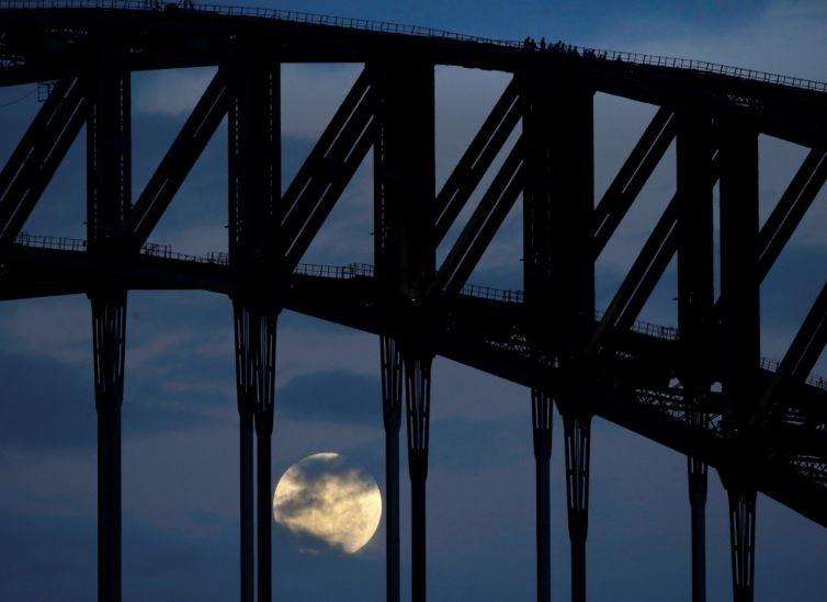 Thế giới ngước nhìn 'siêu trăng' lớn nhất 70 năm qua - ảnh 11
