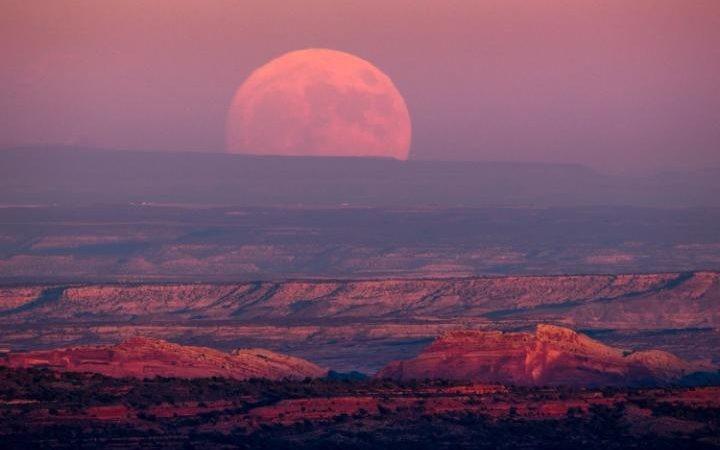 Thế giới ngước nhìn 'siêu trăng' lớn nhất 70 năm qua - ảnh 3