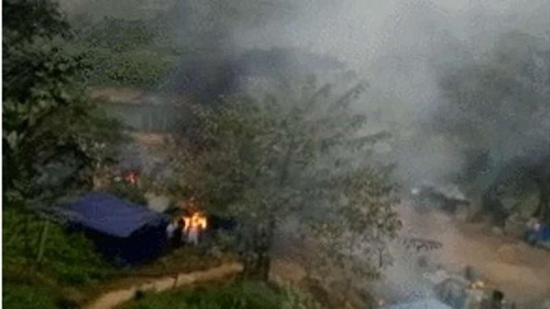 Giao tranh ở bắc Myanmar, bom rơi sang Trung Quốc - ảnh 1