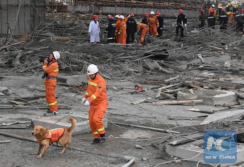 Sập công trình tại Trung Quốc, 40 người thiệt mạng - ảnh 2