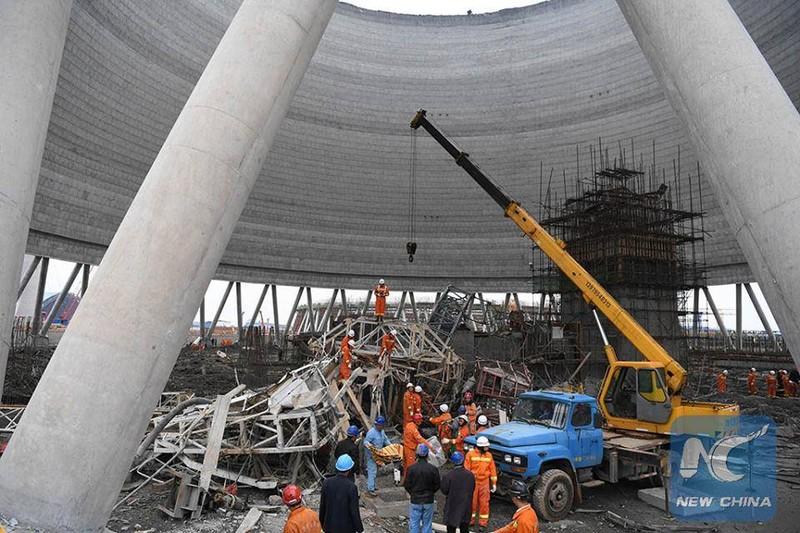 Sập công trình tại Trung Quốc, 40 người thiệt mạng - ảnh 3