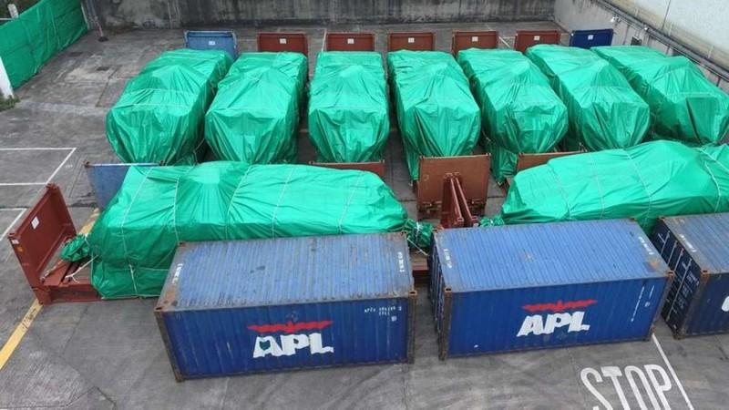 Trung Quốc mách Hong Kong thu giữ xe bọc thép Singapore