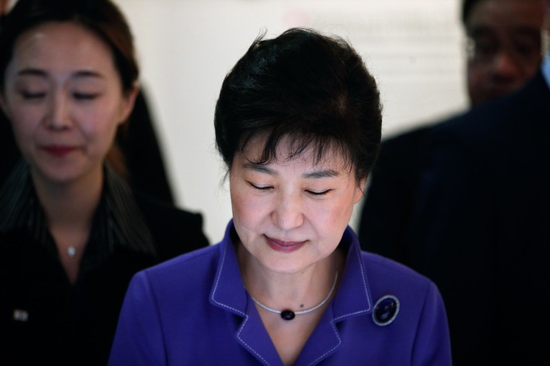 Tổng thống Hàn Quốc tuyên bố sẵn sàng từ chức - ảnh 1