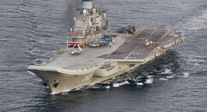 Ý đóng tàu sân bay khủng đối phó Nga tại Địa Trung Hải