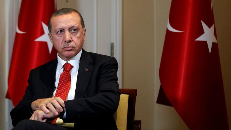 Tổng thống Thổ Nhĩ Kỳ Tayyip Recep Erdogan. Ảnh: REUTERS