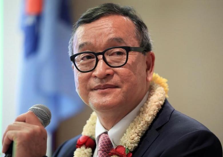 Lãnh đạo đảng đối lập Sam Rainsy lãnh 5 năm tù - ảnh 1