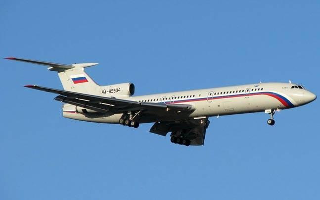 Nga hủy bỏ tất cả chuyến bay của Tu-154 sau tai nạn - ảnh 1