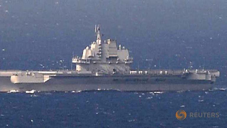 Hải quân Trung Quốc xác nhận tập trận ở biển Đông - ảnh 1