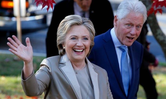 Vợ chồng Clinton sẽ dự lễ nhậm chức của ông Trump - ảnh 1