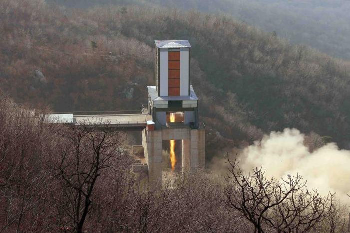 Triều Tiên sẽ phóng tên lửa ngày Trump nhậm chức? - ảnh 1