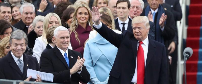 Ông Donald Trump chính thức nhậm chức Tổng thống Mỹ  - ảnh 1