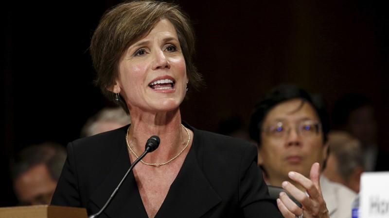 Trump sa thải quyền Bộ trưởng Tư pháp vì chống sắc lệnh - ảnh 1