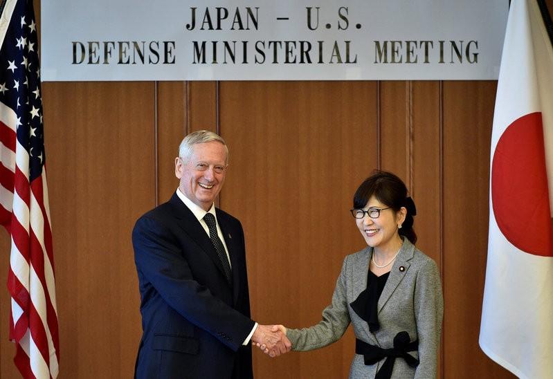 Bộ trưởng Quốc phòng Mỹ hứa 'kề vai sát cánh' với Nhật - ảnh 2