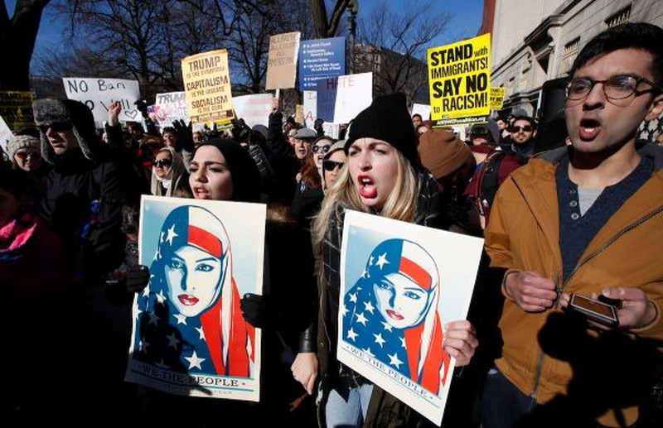 Trump kháng cáo phán quyết chặn sắc lệnh nhập cư - ảnh 1