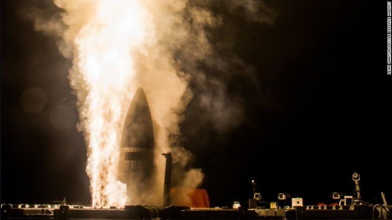 Mỹ-Nhật thử thành công tên lửa đánh chặn - ảnh 1