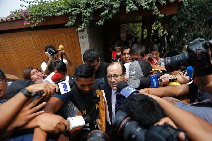 Peru ra lệnh tạm giam cựu tổng thống vì tham nhũng - ảnh 2
