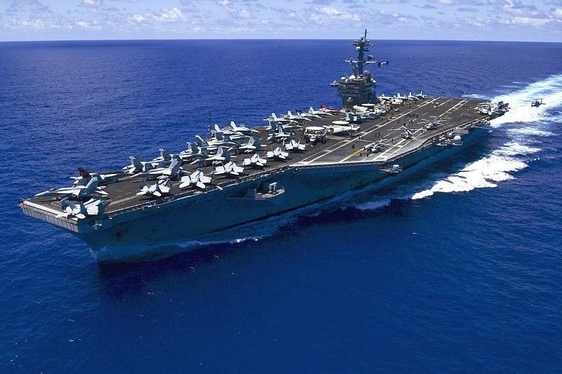 Siêu tàu sân bay của Mỹ sắp đến tập trận với Hàn Quốc - ảnh 1