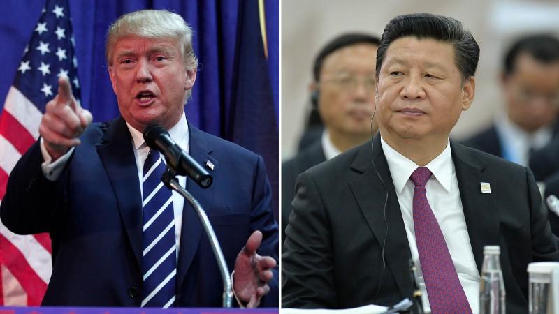 Ông Trump điện cho ông Tập, tôn trọng 'Một Trung Quốc' - ảnh 1
