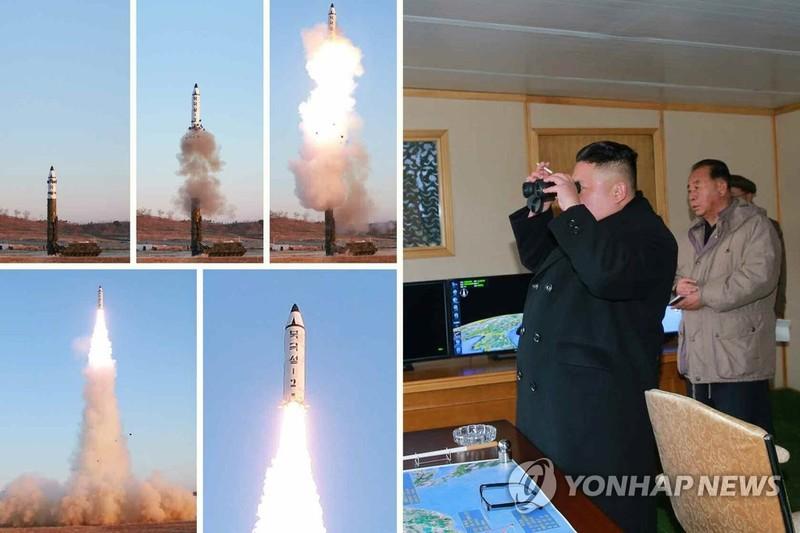 Tên lửa mới của Triều Tiên tầm bắn hơn 2000 km - ảnh 1
