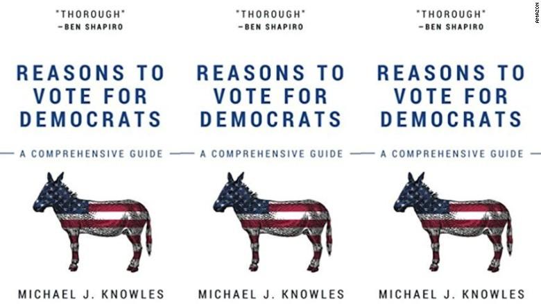 Sách toàn giấy trắng chế giễu đảng Dân chủ 'cháy hàng' - ảnh 1