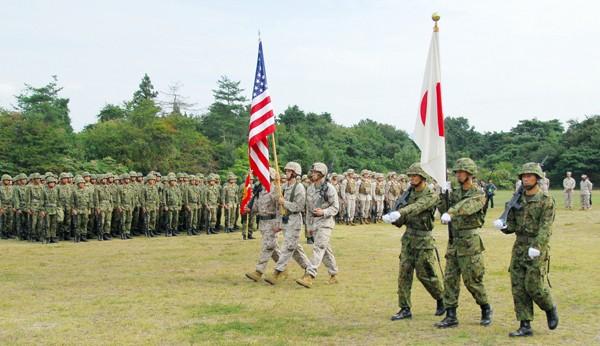 Mỹ-Nhật tập trận hải quân cảnh cáo Triều Tiên - ảnh 1