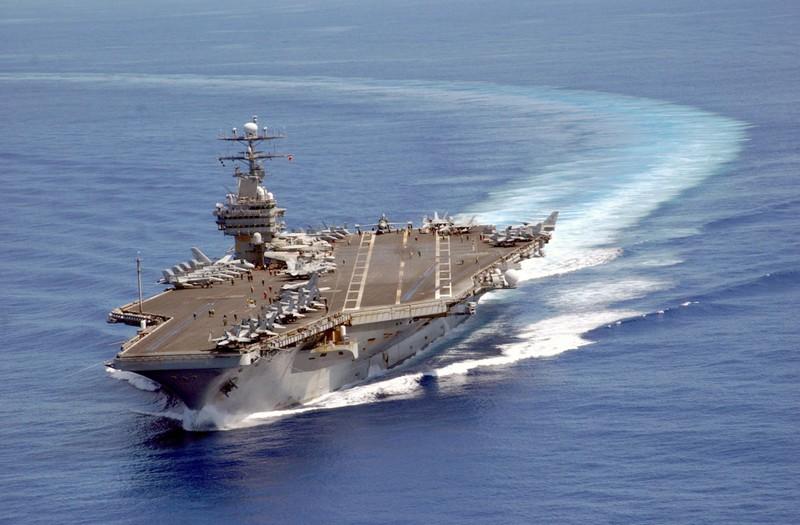 Triều Tiên dọa đánh tàu sân bay Mỹ 'không thương tiếc' - ảnh 1