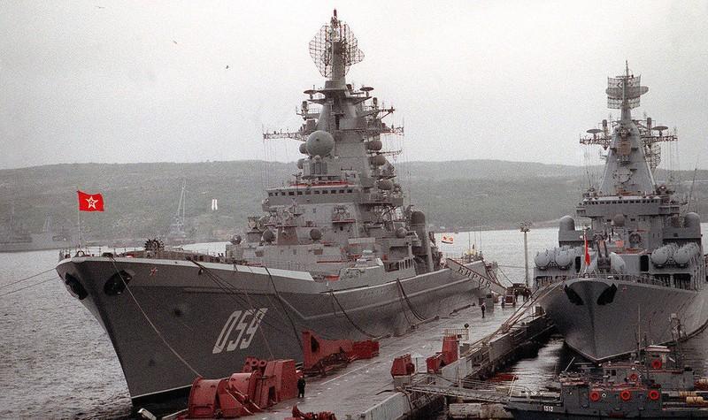 Nga hồi sinh quân cảng Syria cho tàu chiến hạt nhân - ảnh 1