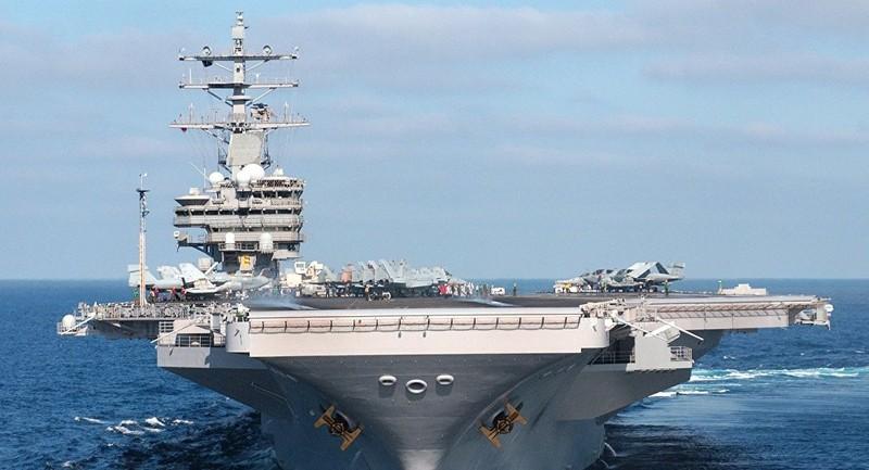 Nóng: Mỹ điều 3 tàu sân bay tới bán đảo Triều Tiên - ảnh 1