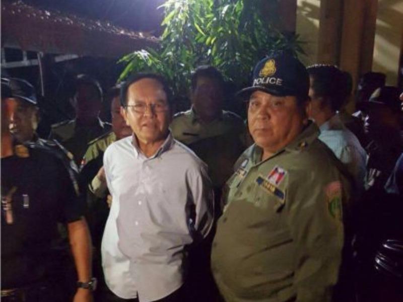Lãnh đạo đối lập Campuchia bị bắt vì tội 'tạo phản' - ảnh 1