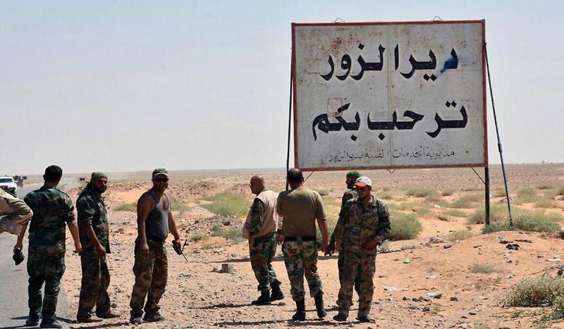 Syria đại thắng IS ở Deir ez-Zor - ảnh 2