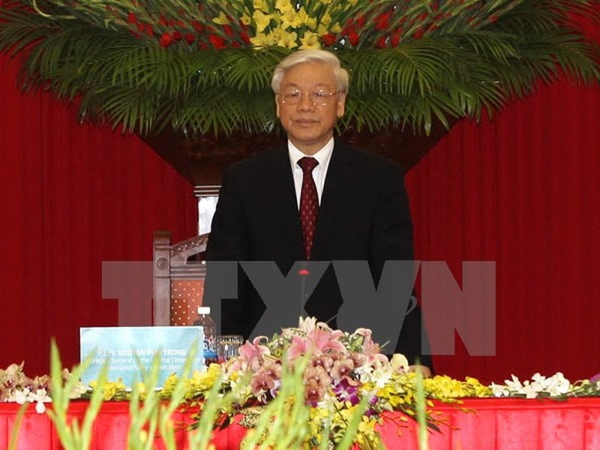 Tổng Bí thư Nguyễn Phú Trọng thăm chính thức Trung Quốc từ 7 đến 10-4 - ảnh 1