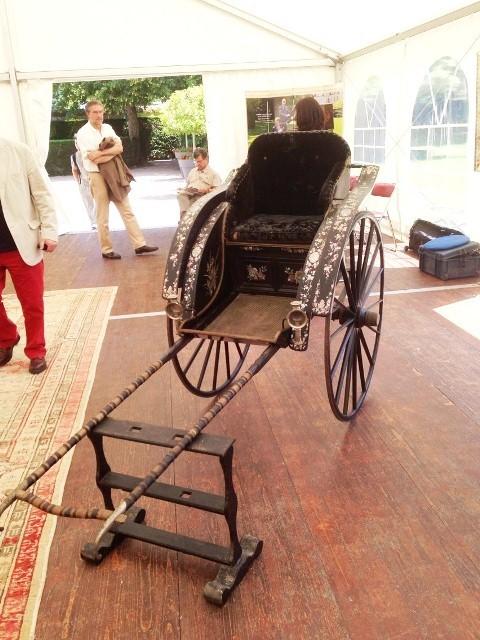 Chiếc xe kéo tay vua Thành Thái tặng mẹ