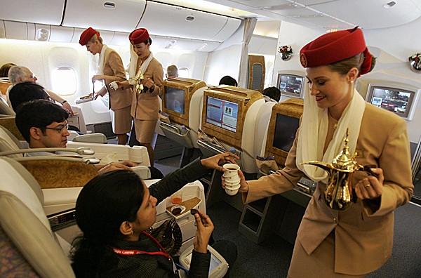 Khoang hạng nhất dát vàng trên máy bay Emirates - ảnh 9