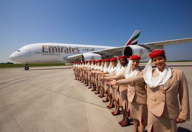 Khoang hạng nhất dát vàng trên máy bay Emirates - ảnh 1