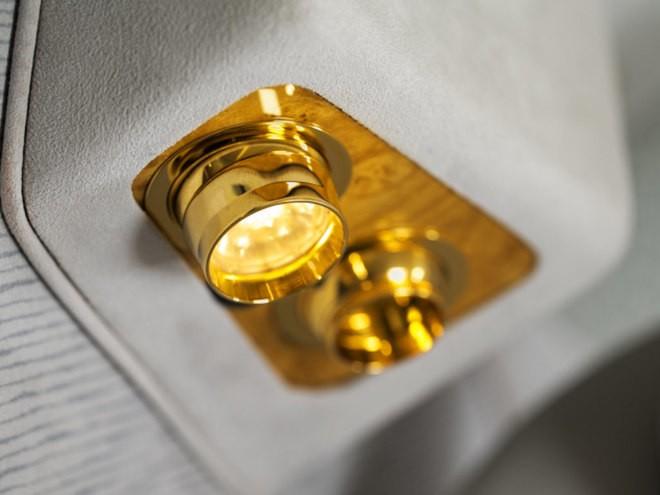Khoang hạng nhất dát vàng trên máy bay Emirates - ảnh 6
